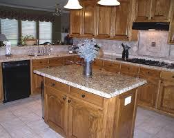 venetian gold granite countertops and tile backsplash kitchen