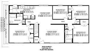 floor plans for split level homes 4 bedroom house plans split level home plans ideas