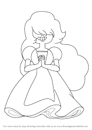 free steven universe pearl coloring pages