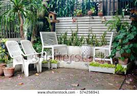 Bench For Balcony Balcony Garden Stock Images Royalty Free Images U0026 Vectors