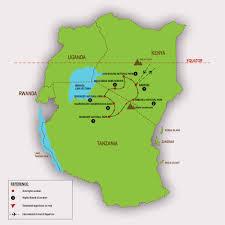 Lake Victoria Map Migration Safari U2013 Kenya U0026 Tanzania U2013 Twiga Tours