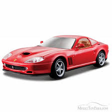 toy ferrari model cars ferrari 550 maranello hard top red bburago 26004 1 24 scale
