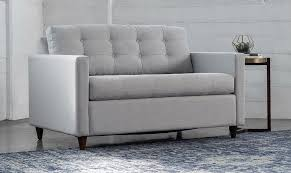 Best Leather Sleeper Sofa The Best Sleeper Sofas For Small Spaces Apartment Therapy