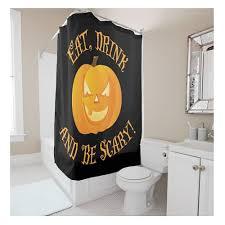 aliexpress com buy pumpkin witch halloween shower curtains hooks