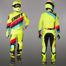 shift motocross gear shift motocross u0026 enduro mx combo shift whit3 yellow maciag
