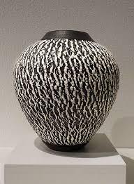 Black And White Vases Ceramics In Black And White