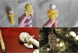 diy pasta ornaments beesdiy