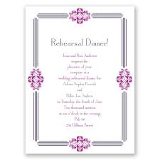 dinner invitation bling border rehearsal dinner invitation invitations by
