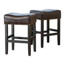 tan leather counter stool houzz