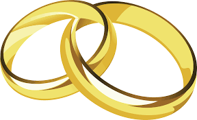 linked wedding rings linked wedding rings clipart free clipart images 4 clipartcow 2