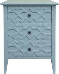 teal accent table huge deal on fretwork accent table threshold zenith teal