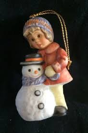 berta hummel a gift for snowman ornament ornaments