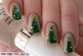 20 fabulous and easy diy christmas nail art design tutorials