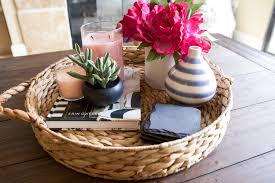 coffee table styling u0026 decor ideas michelle got married