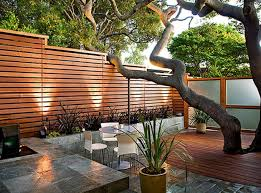 decoration foxy modern front yard fence ideas garden designs