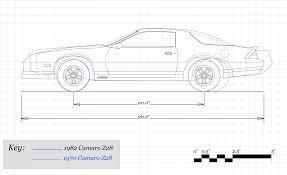how much has chevrolet u0027s camaro grown since 1967 u2013 feature u2013 car