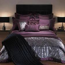 Silver Comforter Set Queen A Quick Introduction To Purple Bedding Victoria Homes Design