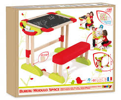 smoby bureau modulo space modulo space desk desks arts crafts products smoby com