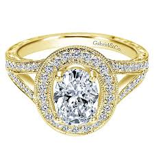 yellow gold oval engagement rings 14k yellow gold oval halo engagement ring er8806y44jj