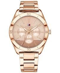 metal bracelet watches images Tommy hilfiger women 39 s rose gold tone metal bracelet watch 40mm tif