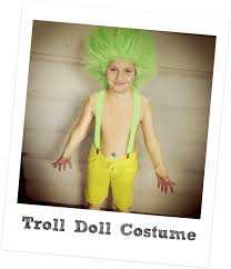 troll for halloween jennuine by rook no 17 easy troll doll halloween costume