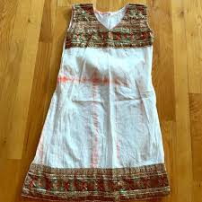 86 off made in india dresses u0026 skirts embroidered dress from