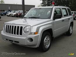 2008 jeep liberty silver 2008 jeep patriot sport 4x4 in bright silver metallic 669405