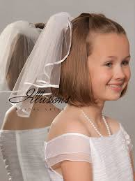 1st communion veils illusions bridal flower girl and communion veils m 151 1r