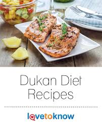 following the dukan diet and in need of some tasty recipes that