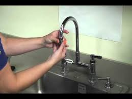 Indoor Faucet To Garden Hose Connector - encore hands free faucet adapter youtube