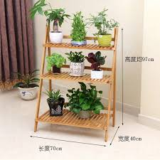 Home Decor Shelf by Flower 3 Tier Hard Wooden Shelves Display Stand Home Decor Shelf