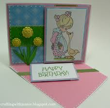 crafting with joanie how to make a twisted easel card