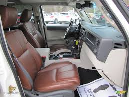 saddle brown interior 2006 jeep commander limited photo 46009871