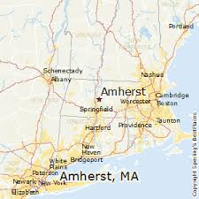 amherst map best places to live in amherst massachusetts