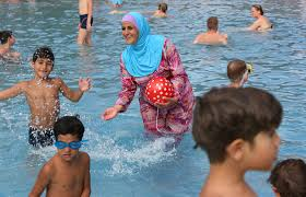 is the burkini common bath wear for russian women russia beyond