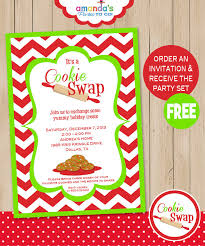 cookie invitation includes free instant