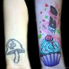 25 cute cupcake tattoos on wrist