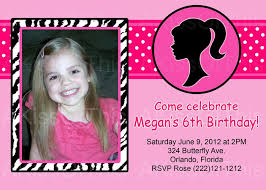 barbie birthday invitation ideas invitation cards for christmas