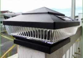 Solar Light For Fence Post - lighting fence post lights lowes fence post lights outdoor fence