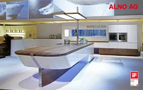 marecucina alno u0027s elegant kitchen concept modern home decor