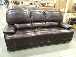 Power Recliner Leather Sofa Leather Power Reclining Sofa Costcochaser