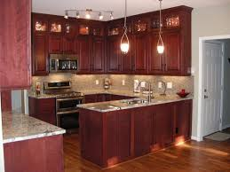 backsplash to match cherry cabinets dark cherry cabinets with light countertops backsplash ideas for