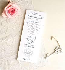 Wedding Ceremony Program Template Word Wedding Template U2013 21 Free Word Excel Pdf Psd Indesign