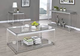 acrylic and glass coffee table modern glass coffee table