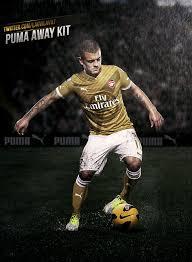 arsenal puma deal arsenal new puma kit revealed fan posts twitter pics of dream