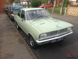 vauxhall ford vauxhall 1969 viva hb sl 90 2 door hotrod not ford swap mint baby