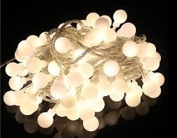 round bulb fairy lights 20m 200 led bulbs matte globes round balls fairy string lights ls