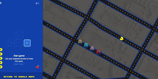 G00gle Maps You Can Play U0027pac Man U0027 In Google Maps Right Now Huffpost