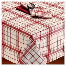 home plaid tablecloth design imports target