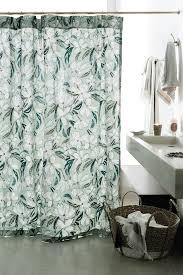 Anthropologie Ruffle Shower Curtain Blanchetta Floral Shower Curtain Anthropologie